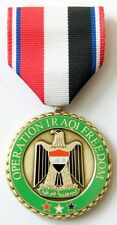 US OPERATION IRAQI FREEDOM COMMEMORATIVE MEDAL Makers Mark P-30