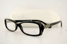 Brand New Swarovski Eyeglass Frames SK 5055 001 BLACK  Women  Size 54