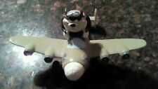 Tasmanian devil pilot plane TAZ statue figurine figure warner bros studio store