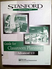 SAT Ninth Edition Guide for Classroom Planning Advanced 1/2 (1996, PB)