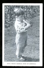 Royalty HRH Prince Charles Duke of Cornwall early PPC