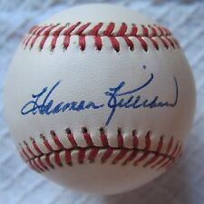 Single signed autographed HOFer Harmon Killebrew on an AL Ball Died 2011 573 HRs