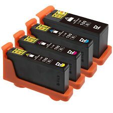 4 Black&Color 100XL Ink Cartridge for Lexmark Impact S301 S300 S305 S302 Printer