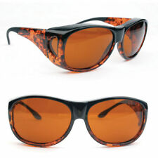 Eschenbach Solar Shields Amber Filter - Medium Size FitOvers Sunglasses - NEW