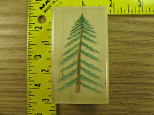 Rubber Stamp Pine Tree by Stampabilities Nature Scenery Stampinsisters #223