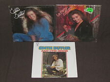 EDITH BUTLER 3 LP RECORD ALBUMS LOT COLLECTION Le Party/L'espoir/Avant Depaysee+