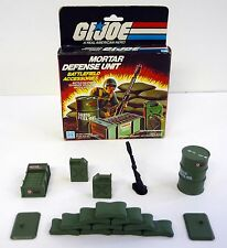 G.I. JOE MORTAR DEFENSE UNIT Vintage Action Figure Playset COMPLETE w/BOX 1984