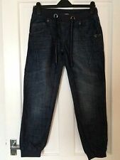 Ladies River Island Blue Slouch Fit Jeans Size 10