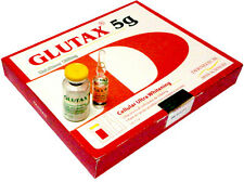 Red Glutax 5g ​​Glutathione IV Complete Set 5000mg x 5