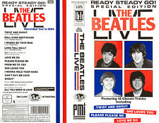 VIDEO VHS - THE BEATLES - LIVE (READY STEADY GO! SPECIAL EDITION) NEW - NUEVO