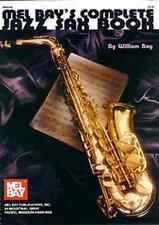 """MEL BAY'S COMPLETE JAZZ SAXOPHONE BOOK"" MUSIC BOOK BRAND NEW ON SALE SAX!!"