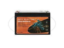 Batterie 6V 7,2Ah AKA (Vlies - wartungsfrei) - für Simson S50, S51, S70, SR50, S