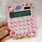 New Super Cute Hello Kitty Basic Desktop Electronic Calculator Pink