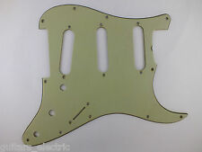 Aged MINT GREEN CELLULOID NITRATE 64 STRATOCASTER PICKGUARD for USA Fender Strat