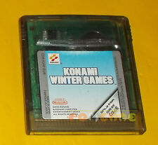 KONAMI WINTER GAMES Game Boy Color Versione Europea ○○○○○ SOLO CARTUCCIA