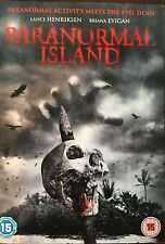 Brian Christensen, Joe Farina-Paranormal Island  DVD NEW sealed,horror 2015