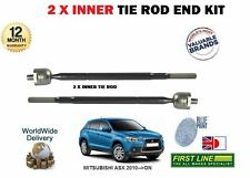 FOR MITSUBISHI ASX 2010- NEW  2x INNER STEERING TRACK RACK ROD TIE END SET