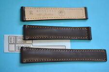 20/16mm Uhrband für Tag Heuer Faltschließe dunkelbraun