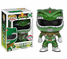 "LIMTED NYCC POWER RANGERS METALLIC GREEN RANGER 3.75"" POP TV VINYL FIGURE FUNKO"