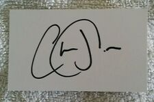 CHRIS JORDAN SIGNED IN PERSON NEAT INDEX CARD CRICKET ASHES