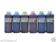 6x500ml Refill dye ink for Epson 277 T277 Expression Photo XP-850 XP-860 printer