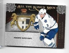 DION PHANEUF 2011 PANINI ALL THE KINGS MEN 4 COLOR GAME USED PATCH ~ LEAFS