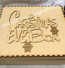 16 x Topper for christmas eve box 200 x 150*note not personalised laser cut