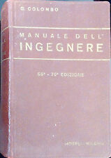 MANUALE DELL'INGEGNERE DI G. COLOMBO