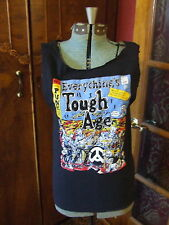 EVERYTHINGS TOUGH AGE PUNK ROCK ARCHIE COMICS SPOOF TSHIRT DIY CUT TANK TOP (C1)