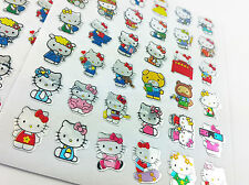 180x Hello kitty Childrens Cat Kids Stickers School Teacher  Cute Fun phone lot