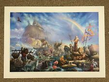 """TOM DUBOIS """"THE CELEBRATION"""" RELIGIOUS SIGNED NUMBERED LIMITED EDITION RARE"""