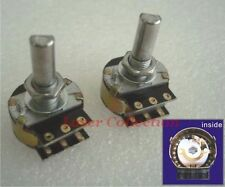 * 2 pcs * of 10K * D shape shaft * DACT Type 21 Stepped Attenuator Potentiometer