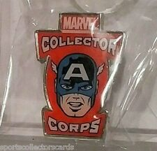 funko pop CAPTAIN AMERICA Marvel Collector Corps Exclusive PIN BADGE