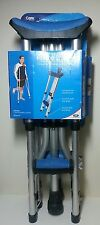 "Carex Folding Crutches Comfort Pads & Grips Adjustable for 4'11""---6'4"" A99500"