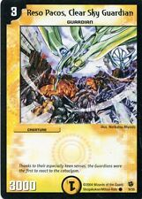 Duel Masters-Karte - Reso Pacos, Clear Sky Guardian