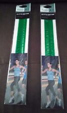 Green Reflective Wrist Band Set of 2