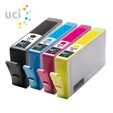 4 HP364 XL CHIPPED Ink Cartridge for Photosmart 5510 5520 3520 6510 C6380 NonOEM
