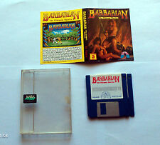 Barbarian The Ultimate Warrior Palace Commodore Amiga Ovp Boxed