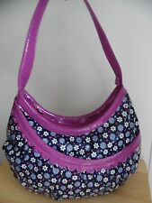 Vera Bradley *Frill Collection* Hotsy Totsy Hobo in Boysenberry, Excellent