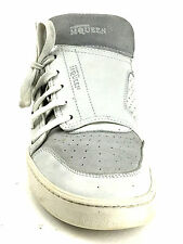 Alexander McQueen By Puma  Men Leather White Sneakers Sise US.11 UK.10 ER.44.5