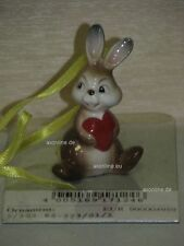 +# A006616_38 Goebel Archiv Muster Ostern Ornament Hase Bunny mit Herz 62-223