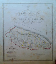Provincia di Terra di Bari Cartografia Gabriello de Sanctis