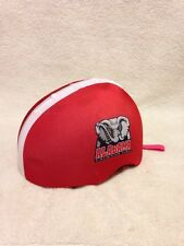 Alabama Crimson Tide Helmet Cover Bike Helmet Skate Moto Helmet Skin Hat Cover