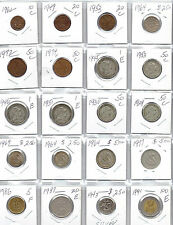 PORTUGAL Lot of 20 Different Coins - 1 Silver Coin