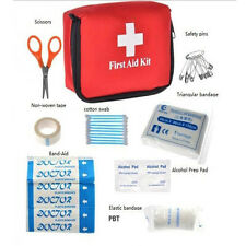 Outdoor Car First Aid Kit Emergency Medical Bag Sport Survival Treatment