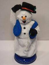 "Gemmy 18"" Frosty Snowman Animated Sings Dances Snow Miser VIDEO"