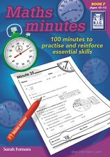 RIC Publications ~ MATHS MINUTES ~ Book F Age 6-7 Years