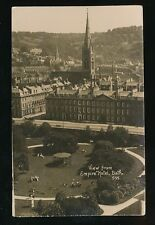 Somerset BATH View from Empire Hotel used c1920 RP PPC