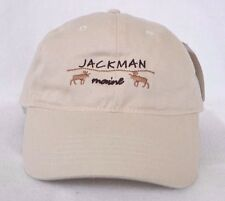 *JACKMAN MAINE* Bull Moose Ball cap hat *OURAY SPORTSWEAR* embroidered