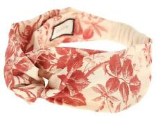 NEW GUCCI LADIES CURRENT FLORAL HERBARIUM LINEN HEADBAND ONE SIZE